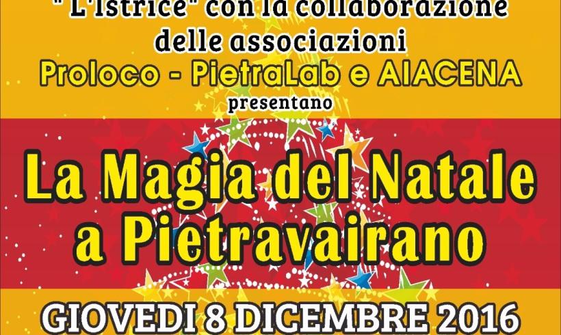 Natale a Pietravairano con la CoNaPro…polis