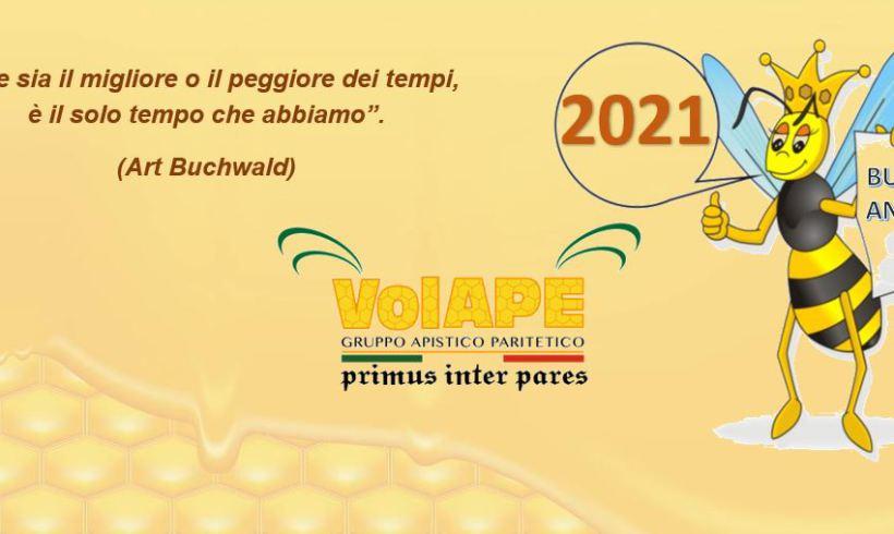 Un sincero augurio di serenità e benessere per il 2021